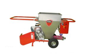 Plaster sprayers with worm (screw) pump