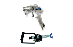 Plaster/render spray guns