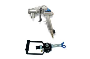 Plaster/render spray guns